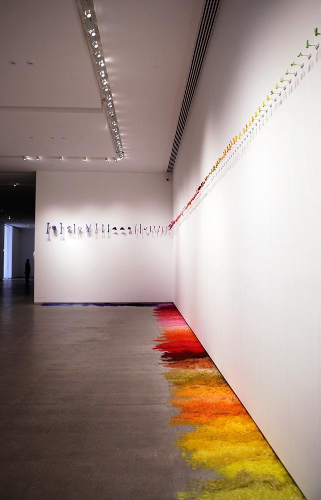 Lin Tianmiao,  All the Same , 2011 (install detail) Photograph: Maura Edmond