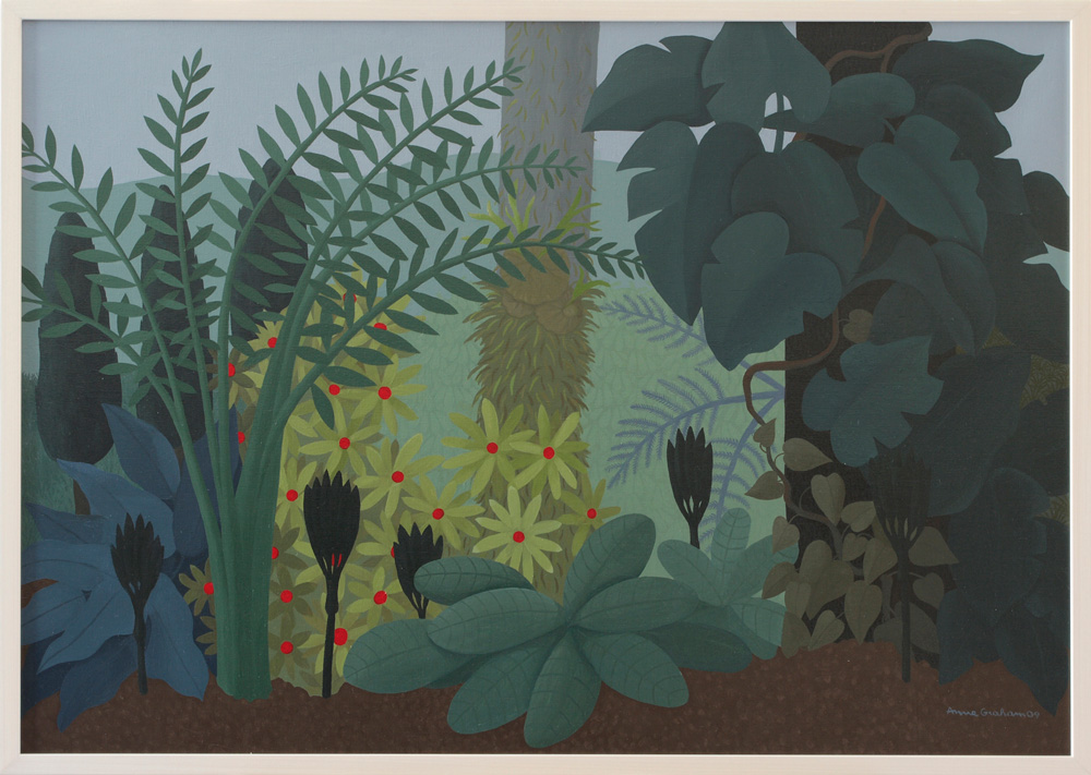Anne Marie Graham,  View to Bromeliads , 2009