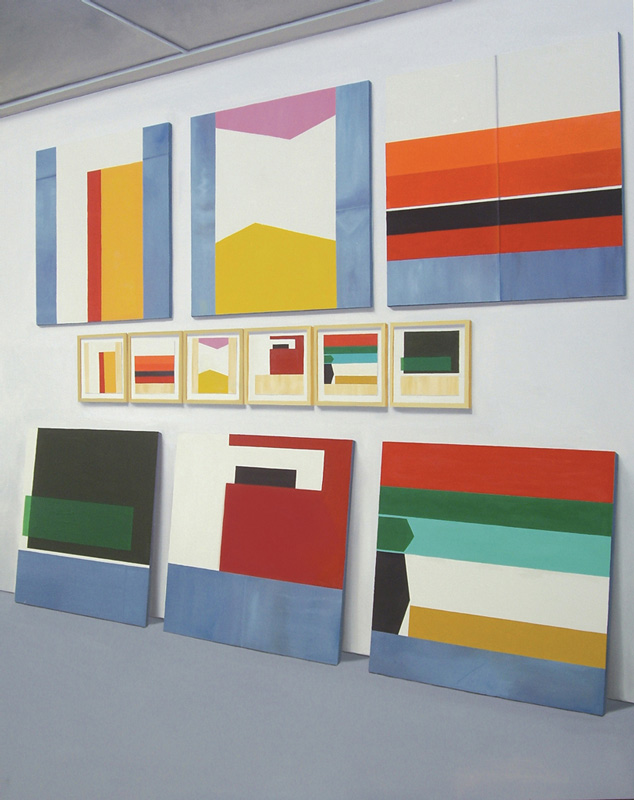 Kez Hughes, Peter Atkins, Painting and Drawing, Greenaway Art Gallery 2011 , 2013 Courtesy the artist
