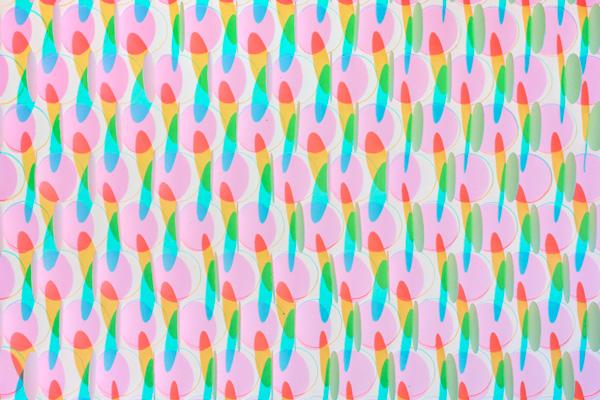 Taree Mackenzie, White Light Shadows:Circles, Squares, Triangles, 2013 (detail) Courtesy the artist