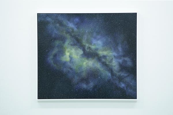 Leanne Hermosilla, Space-Time VII , 2014 Photograph: Maura Edmond