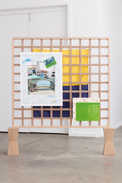 Normal   0           false   false   false     EN-US   JA   X-NONE                                                                        Liang Luscombe,  The artist studio/café, en plein air (after Linda Marrinon) , 2014 Courtesy the artist Photograph: Matthew Stanton