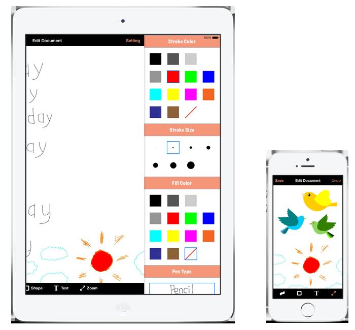 Pinchboard iOS 7