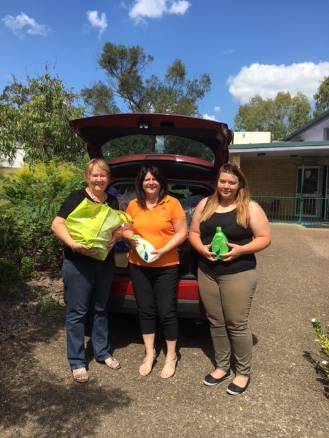 Supporting our local community is an important focus for us @ Enhance Family Day Care - Ipswich ,  Donations collected for DVAC - Domestic Violence Action Centre - Ipswich .