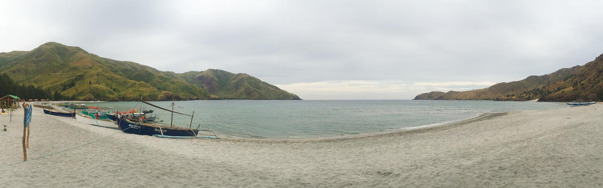 Nagsasa Cove panorama