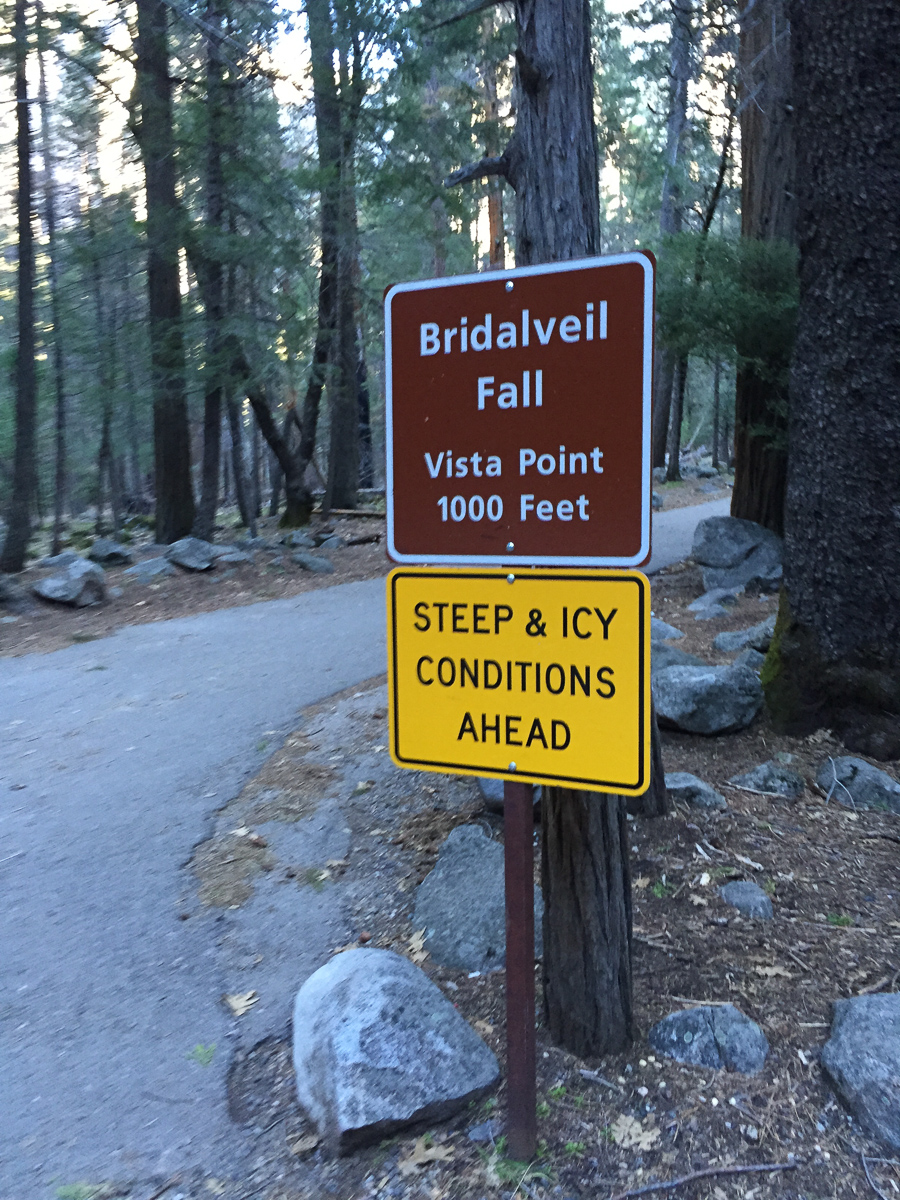 "Steep and ""icky"" conditions ahead"