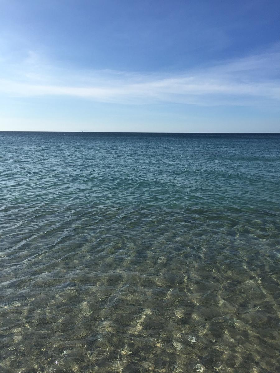 View from desertedAninuan Beach