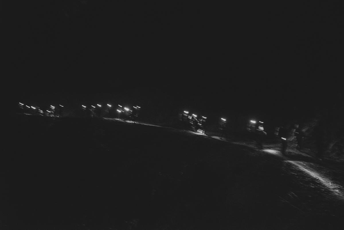 Trekking at 5:30a.m.