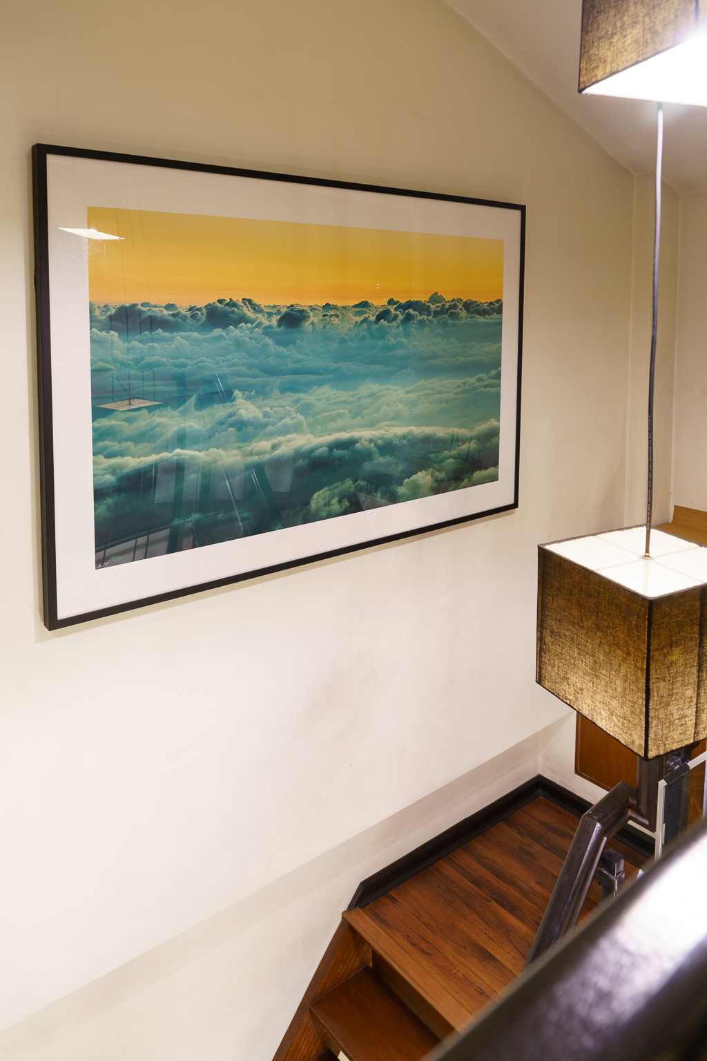 """Final mounted 40x60 inch print of """"Distant Oceans"""""""