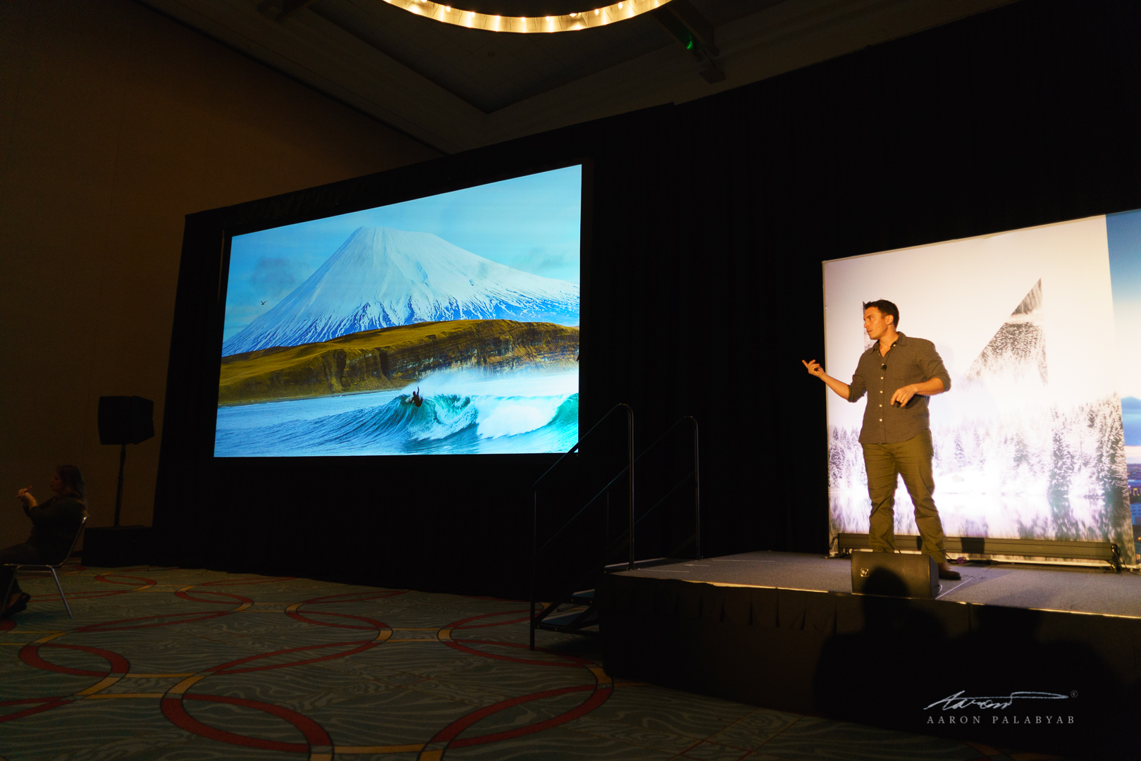 Chris Burkard discussing what went into shooting one of his most iconic images