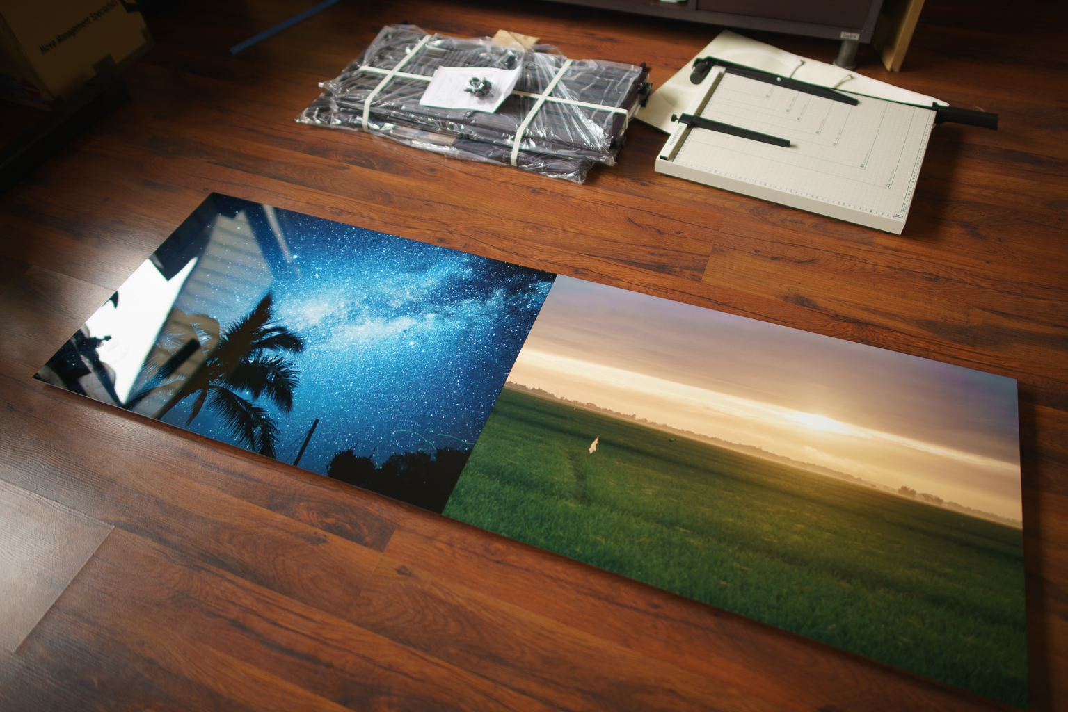 My two newest 20x30 inch metal prints