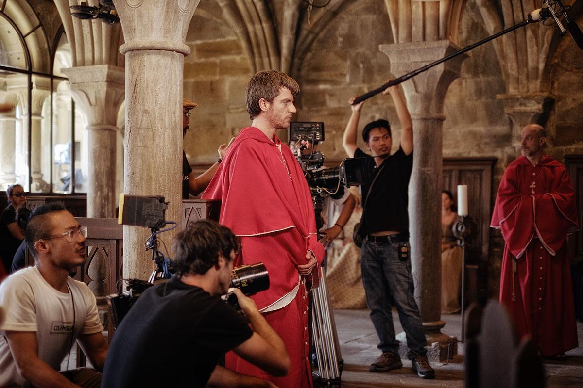 Shooting  Ignacio de Loyola . Photo: Paolo Dy