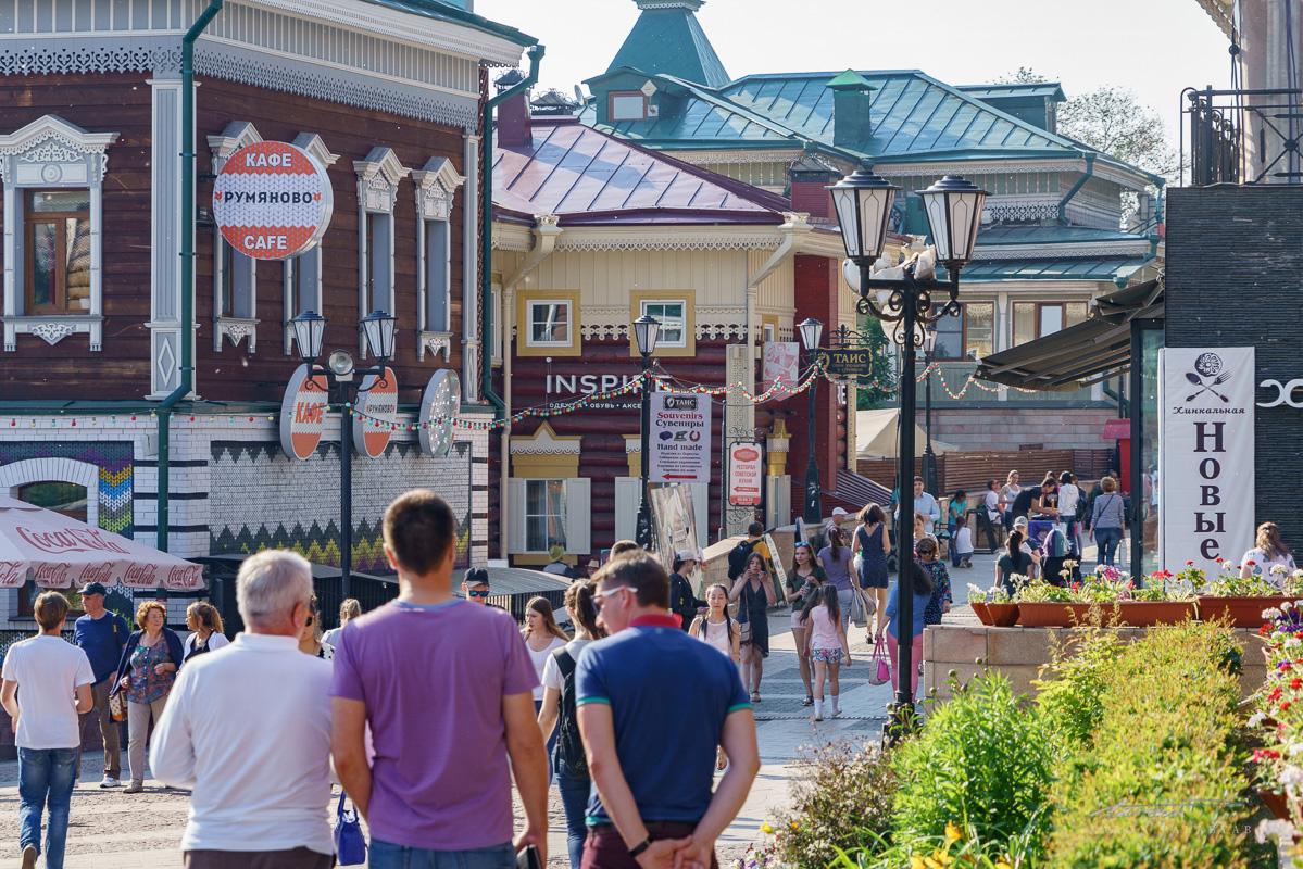 Irkutsk's 130h District houses trendy modern establishments in heritage buildings