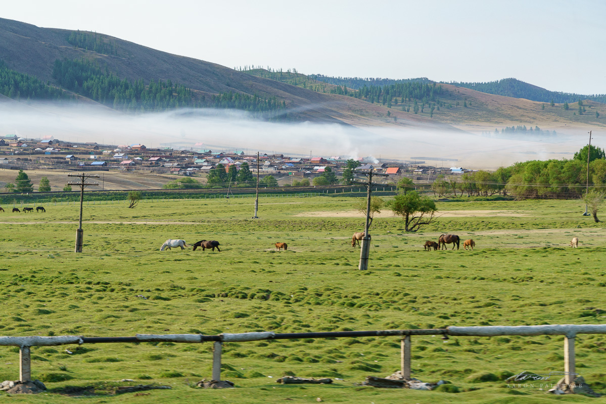 Our first glimpses of Mongolia