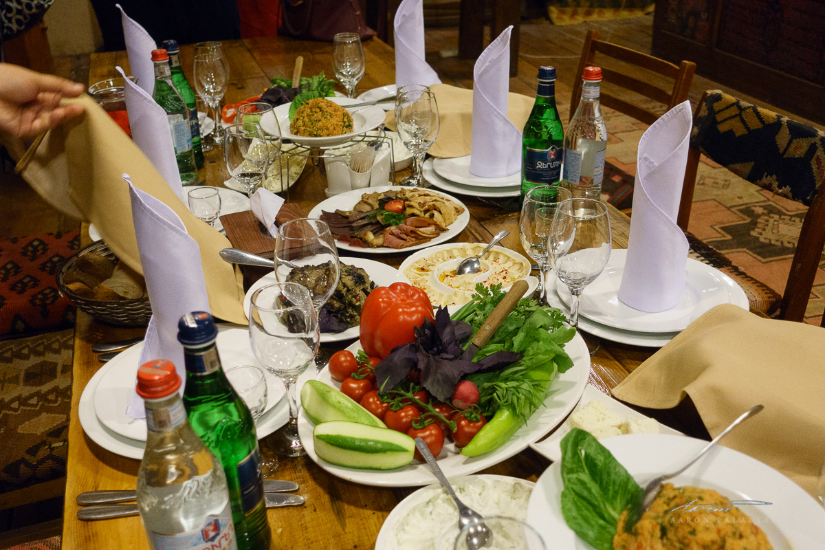 Traditional Armenian Dinner