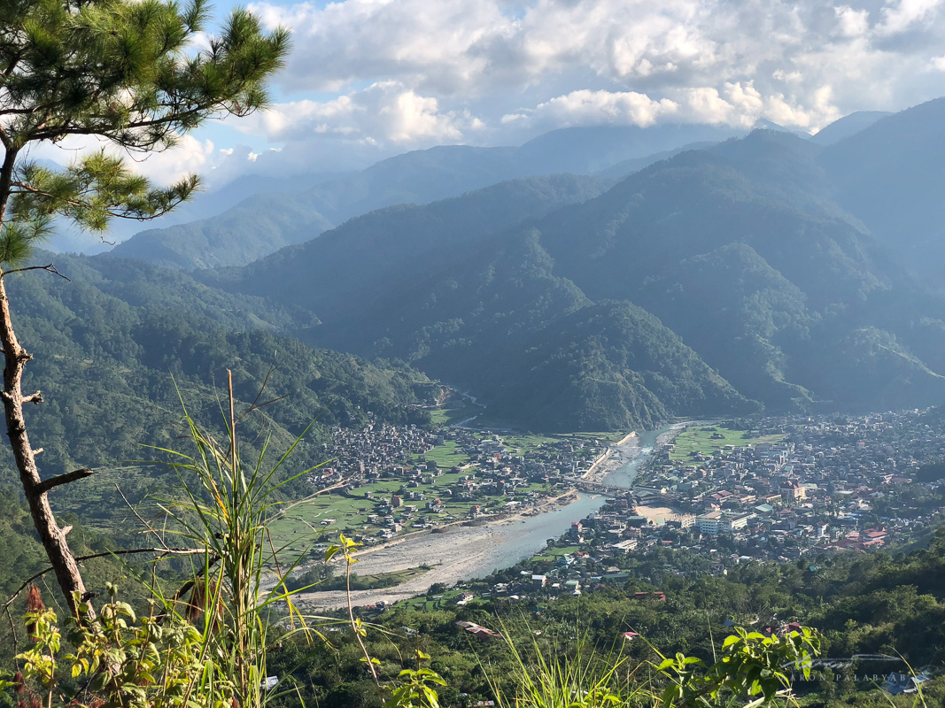 Elevated view of Bontoc. iPhone X JPG, telephoto lens, unedited.