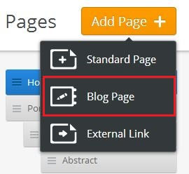 add Blog