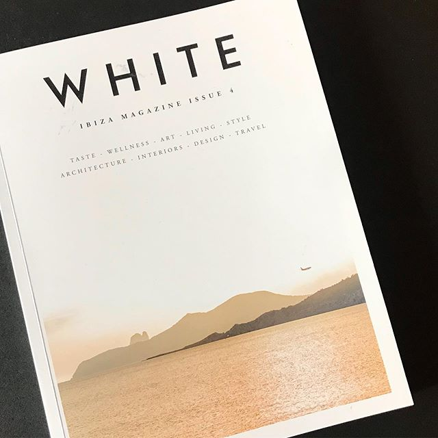 One of those 'must have mags' has finally arrived ! #whiteibiza