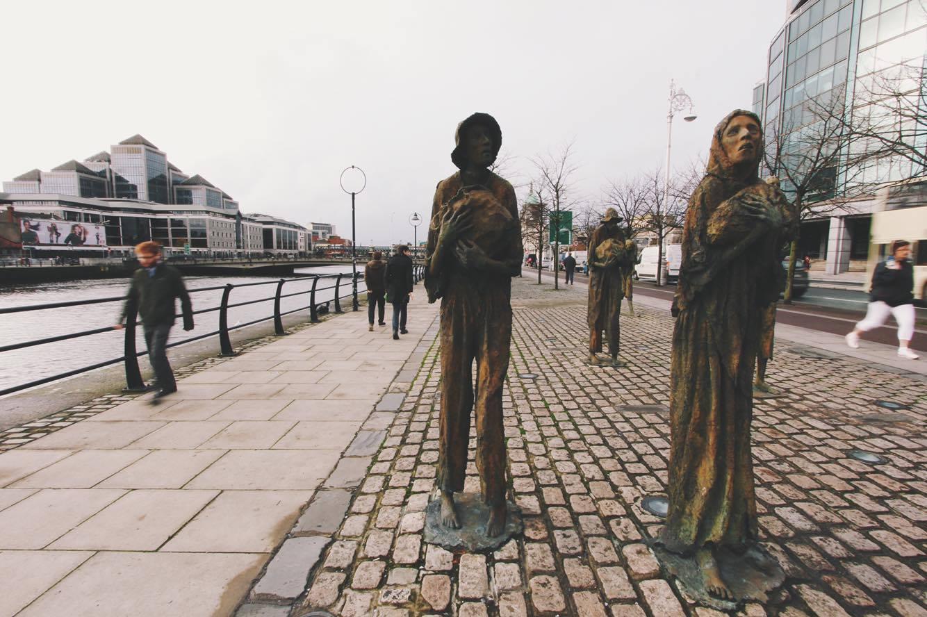 The Famine Memorial