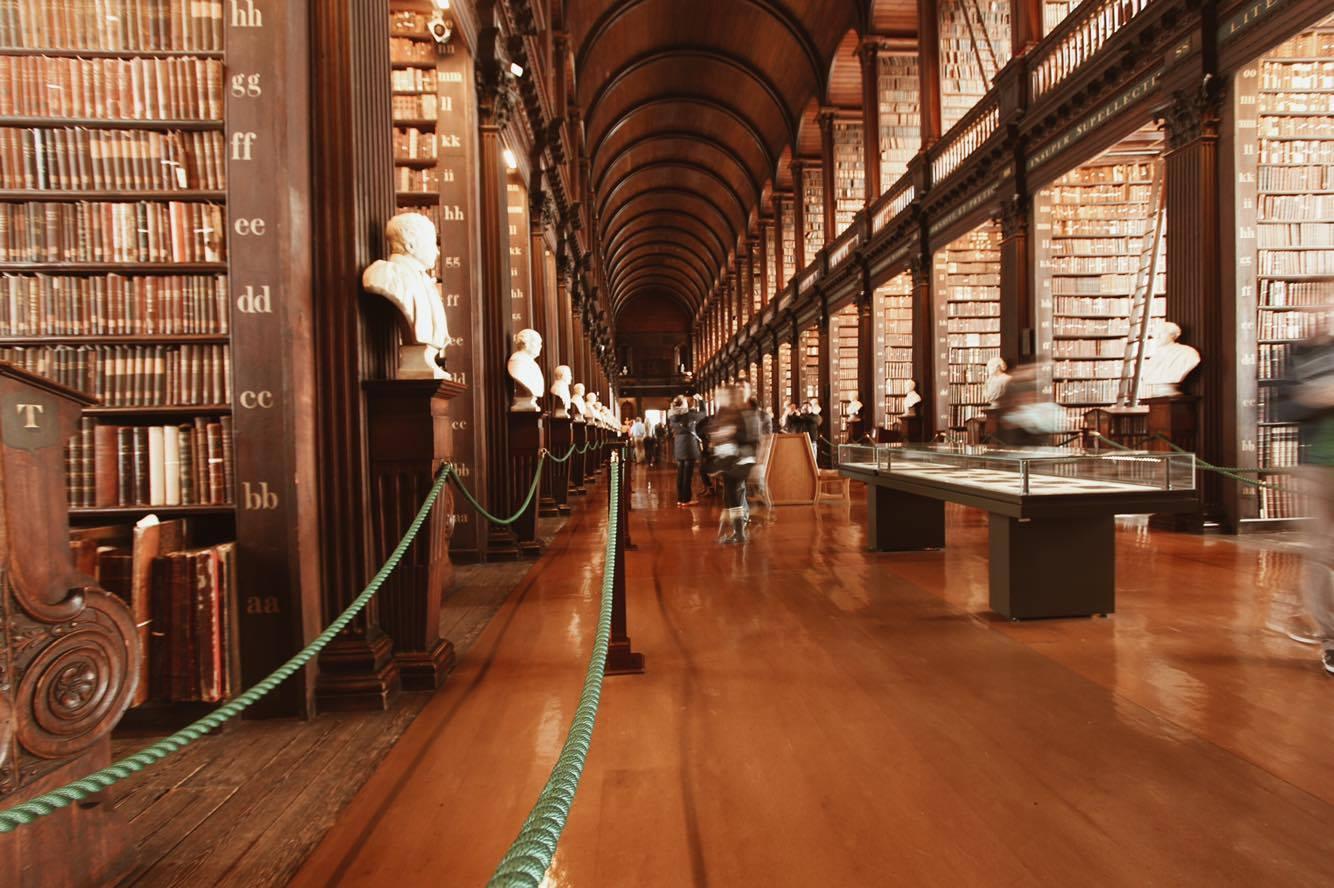 Library Trinity College Dublin Annina Berweger