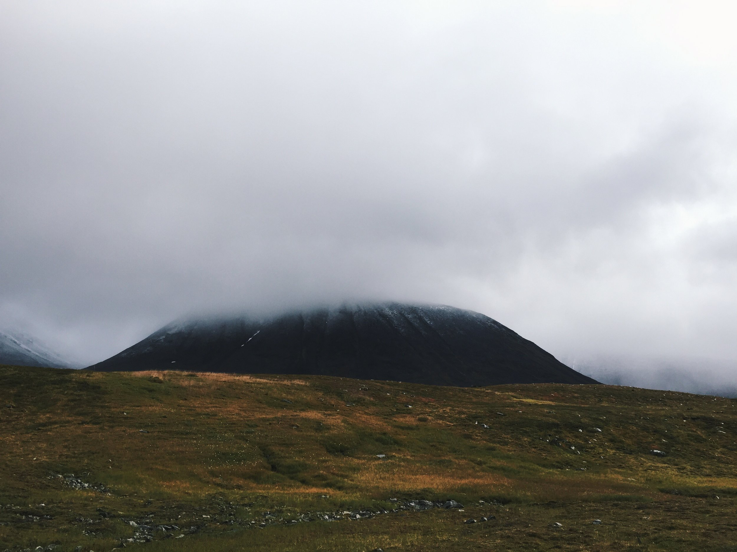 Blick ins Gebirge des Kebnekaise