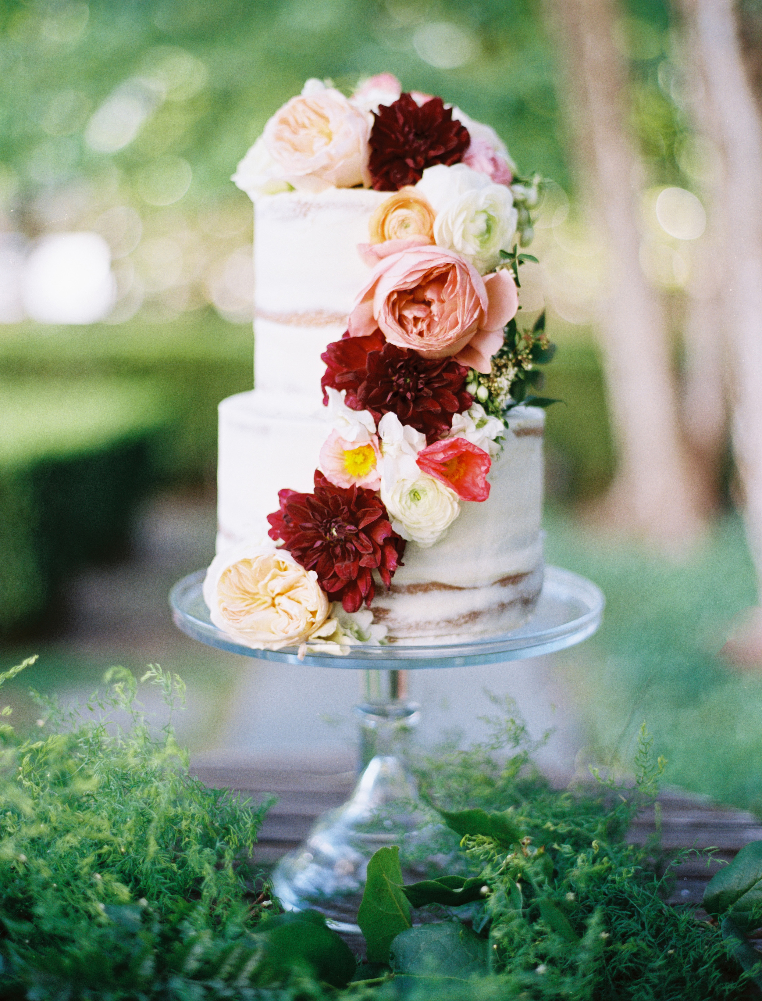custom-wedding-cake-textured-cascading-flowers-sugarbeesweets.jpg