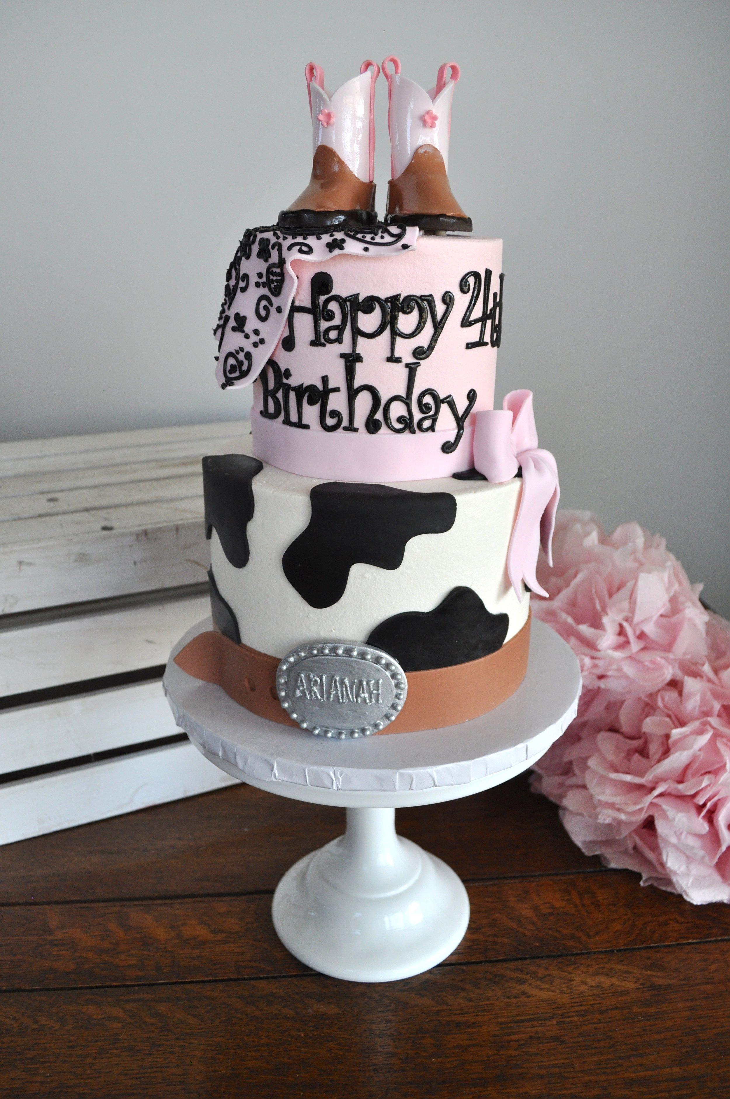 Pink Cowgirl Cake.JPG