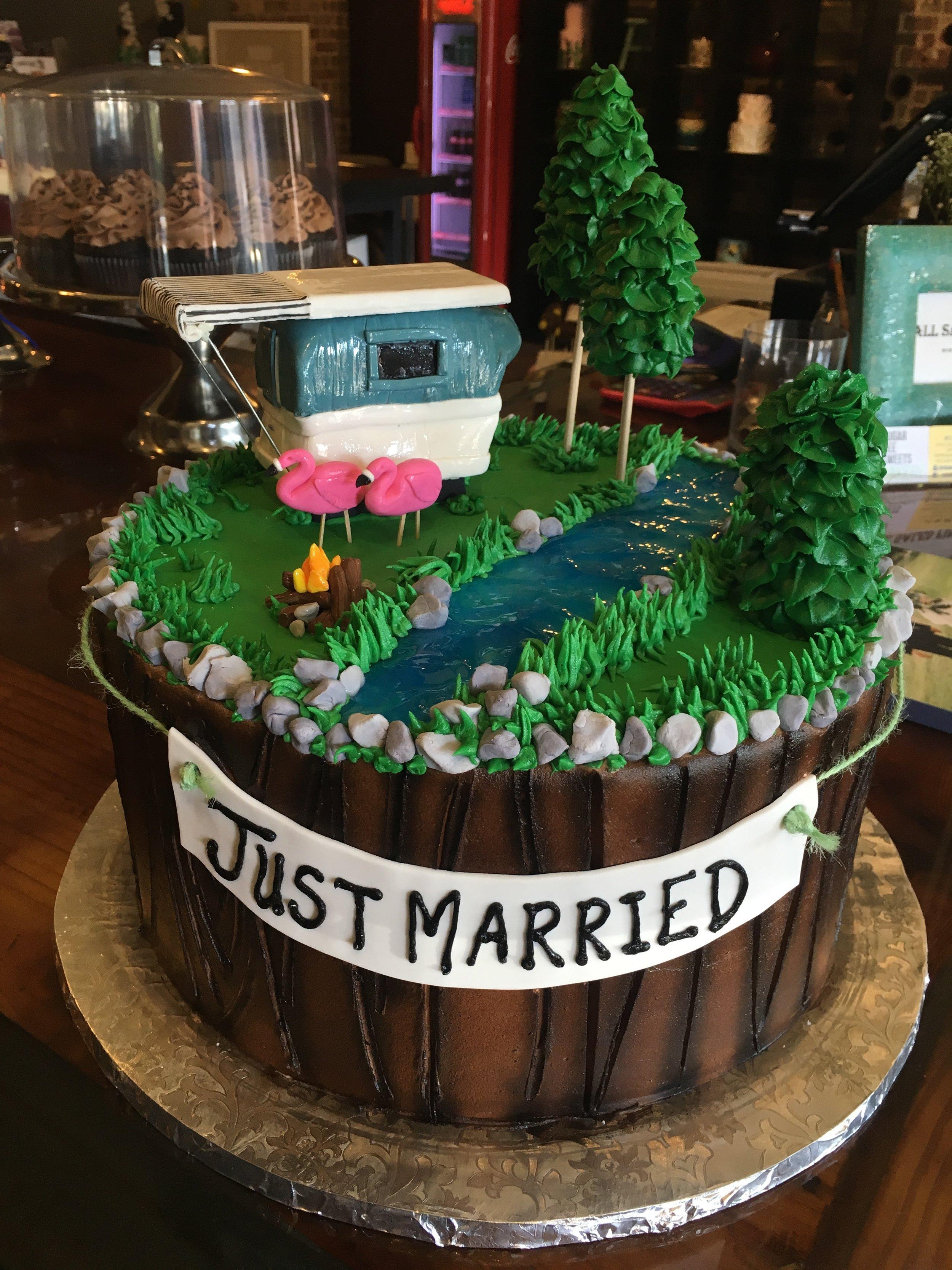 Just Married Groom Cake.JPG
