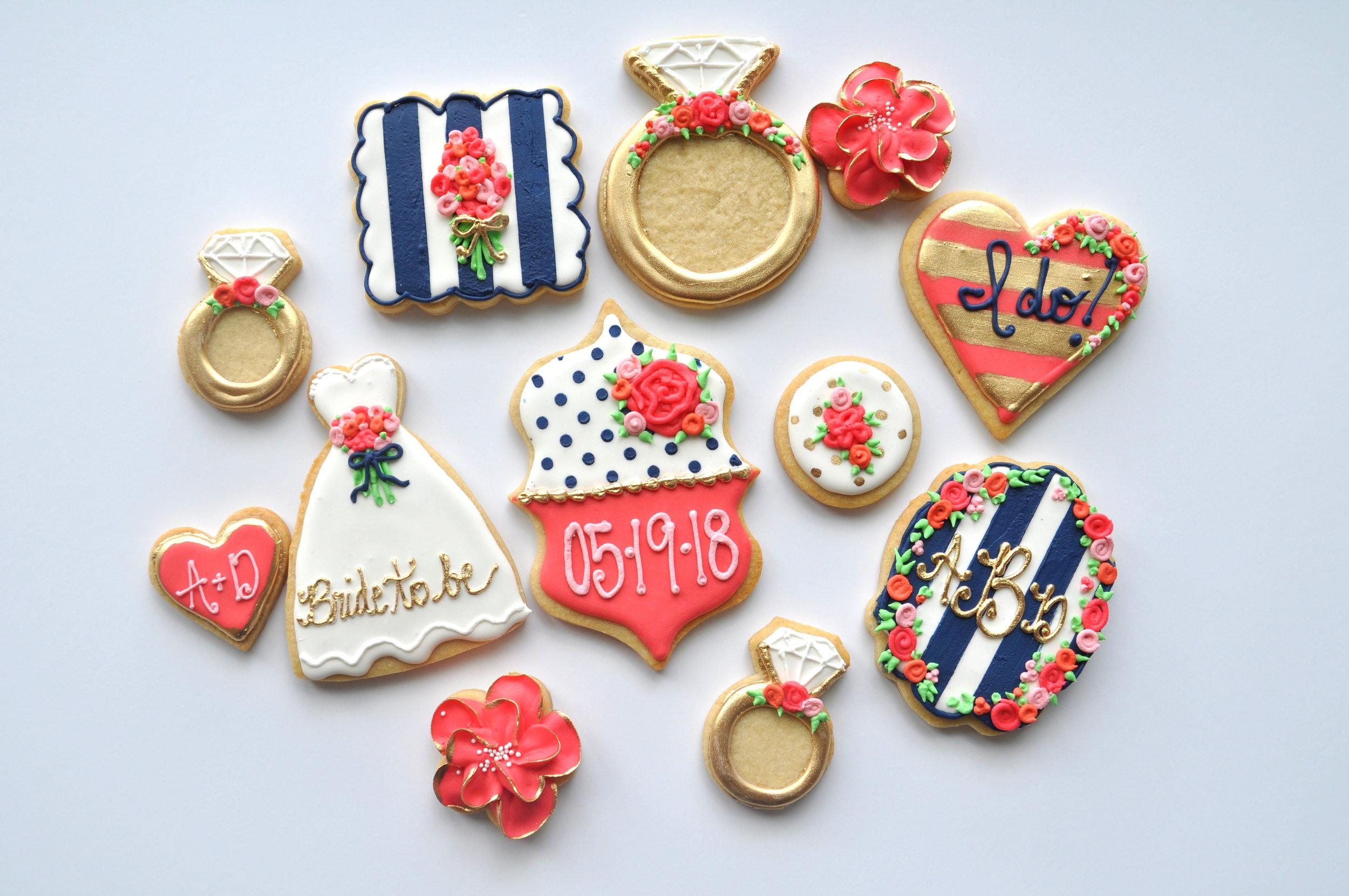 pink:navy bridal shower sugar cookies.jpg