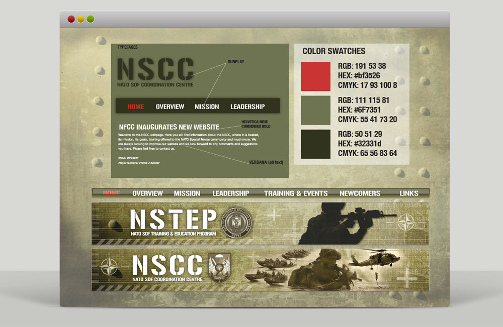 NSHQ Web Style Guide