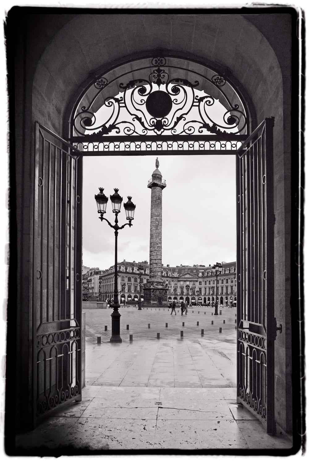 Colonne Vendôme, Paris France