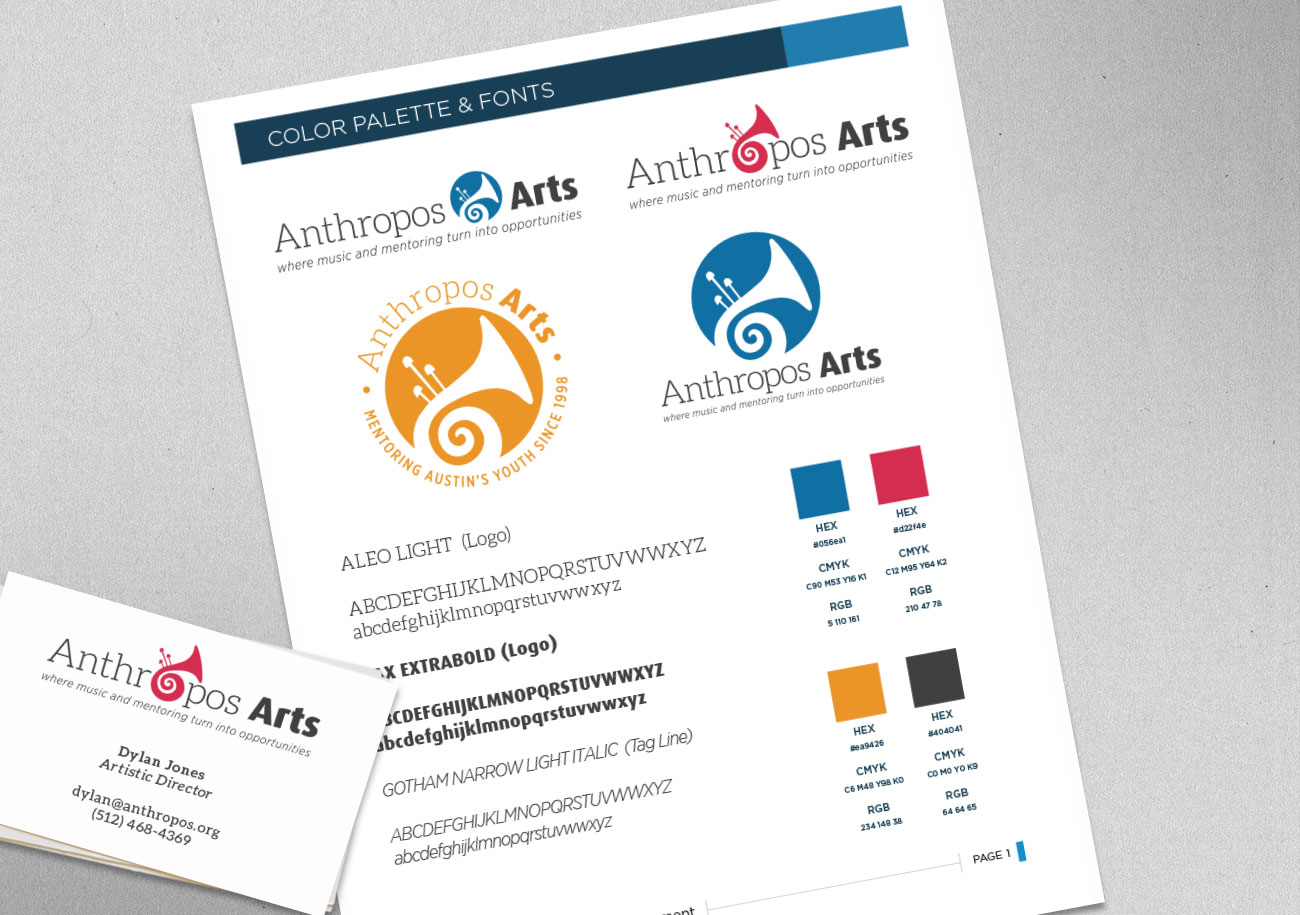 Anthropos Arts Color Palette