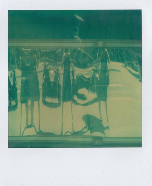 Singular Plural , 2010, SX-70 Polaroid.