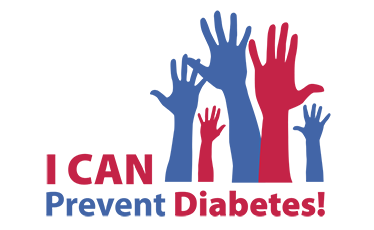 """Click the image above to find out how to talk to your doctor about """"I can prevent Diabetes"""" classes in your area!"""