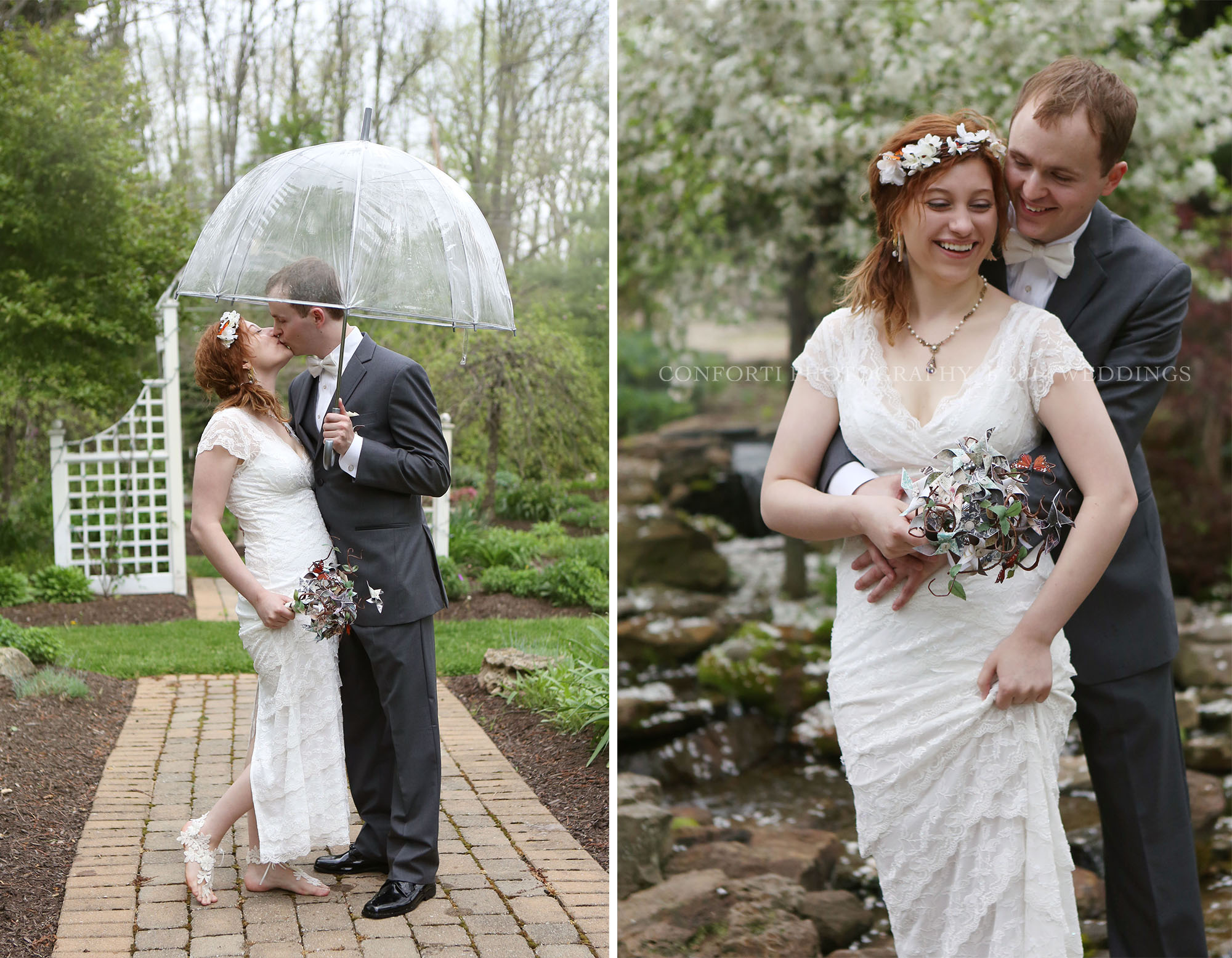 They say rain is good luck on your Wedding Day ;)