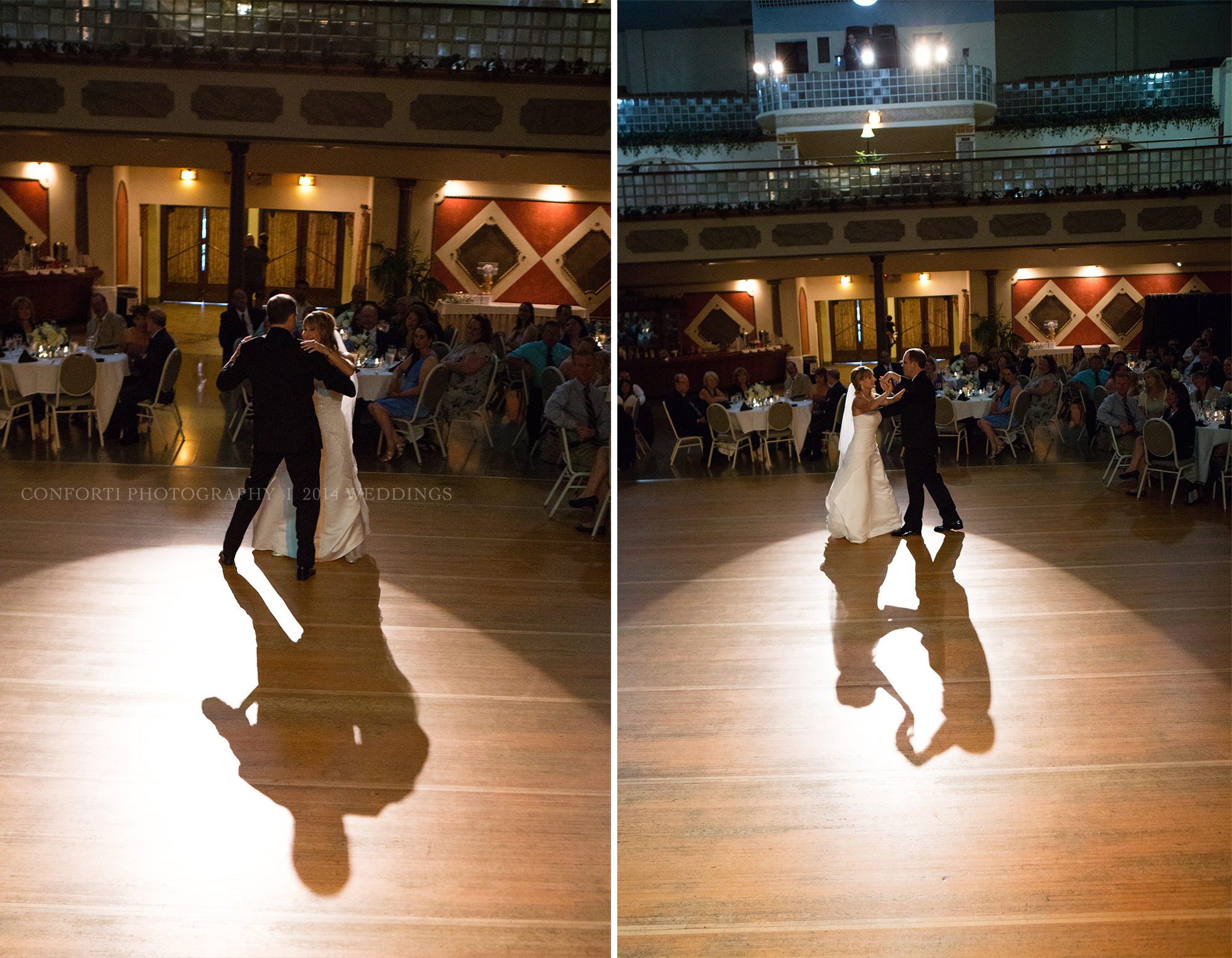 They had an AWESOME first dance, they did a whole swing routine! Eric from  Lakeside Entertainment  played lots of good swing music that the crowd was loving!