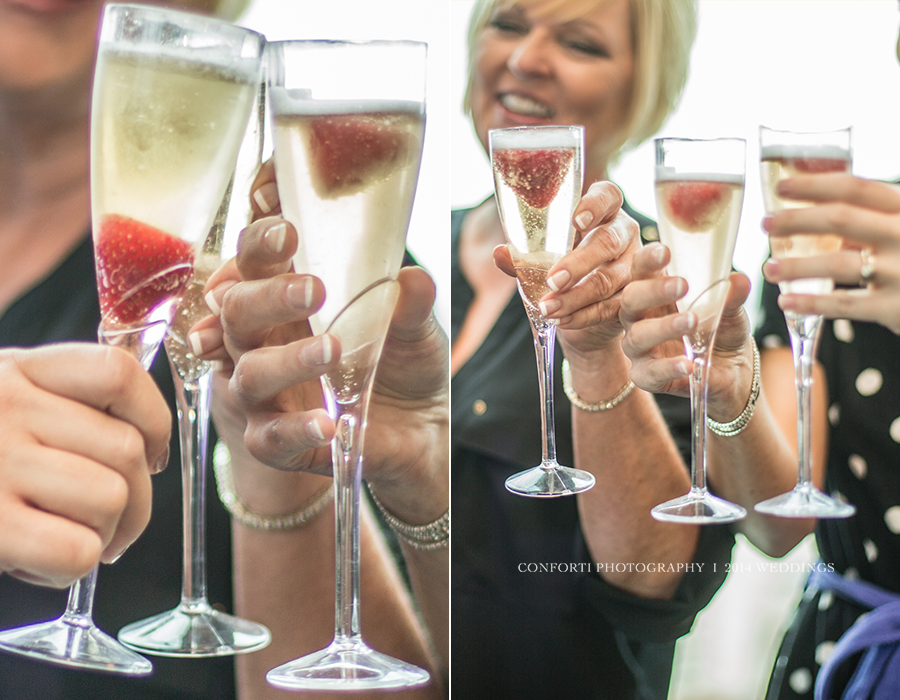 Champagne toasts are a must to get the day started right :)
