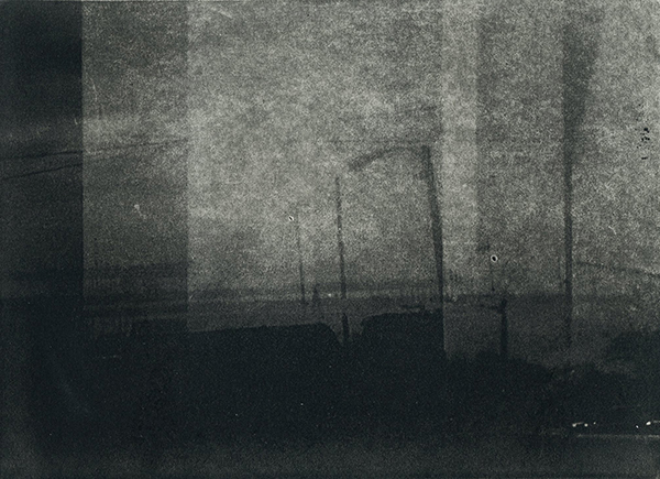 "IL Route 3 2013 Photopolymer Intaglio Print on Paper 5"" x 7"""
