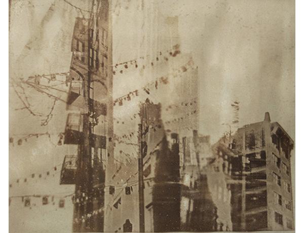 """Wash Ave 2014 Van Dyke Brown Print on Paper 16"""" x 20"""""""