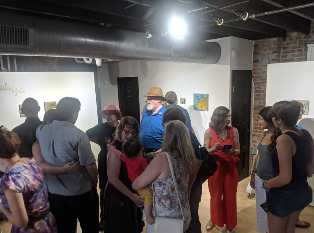 Into Gold Opening Reception