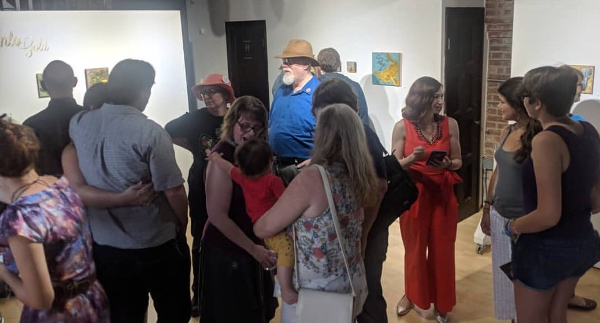 ERICA POPP STUDIOS+ GALLERY - Dedicated to supporting emerging artists through exhibitions, workshops, and mentorship.