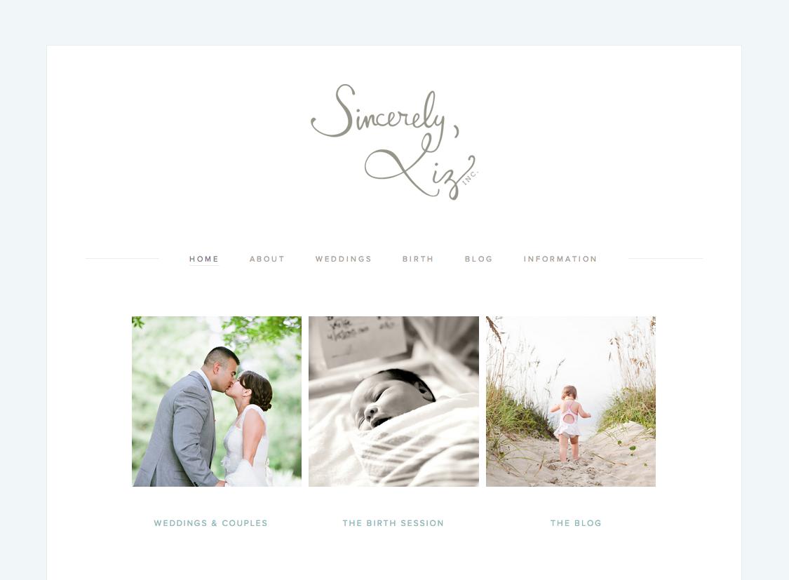 Sincerely-Liz-Photography-Website