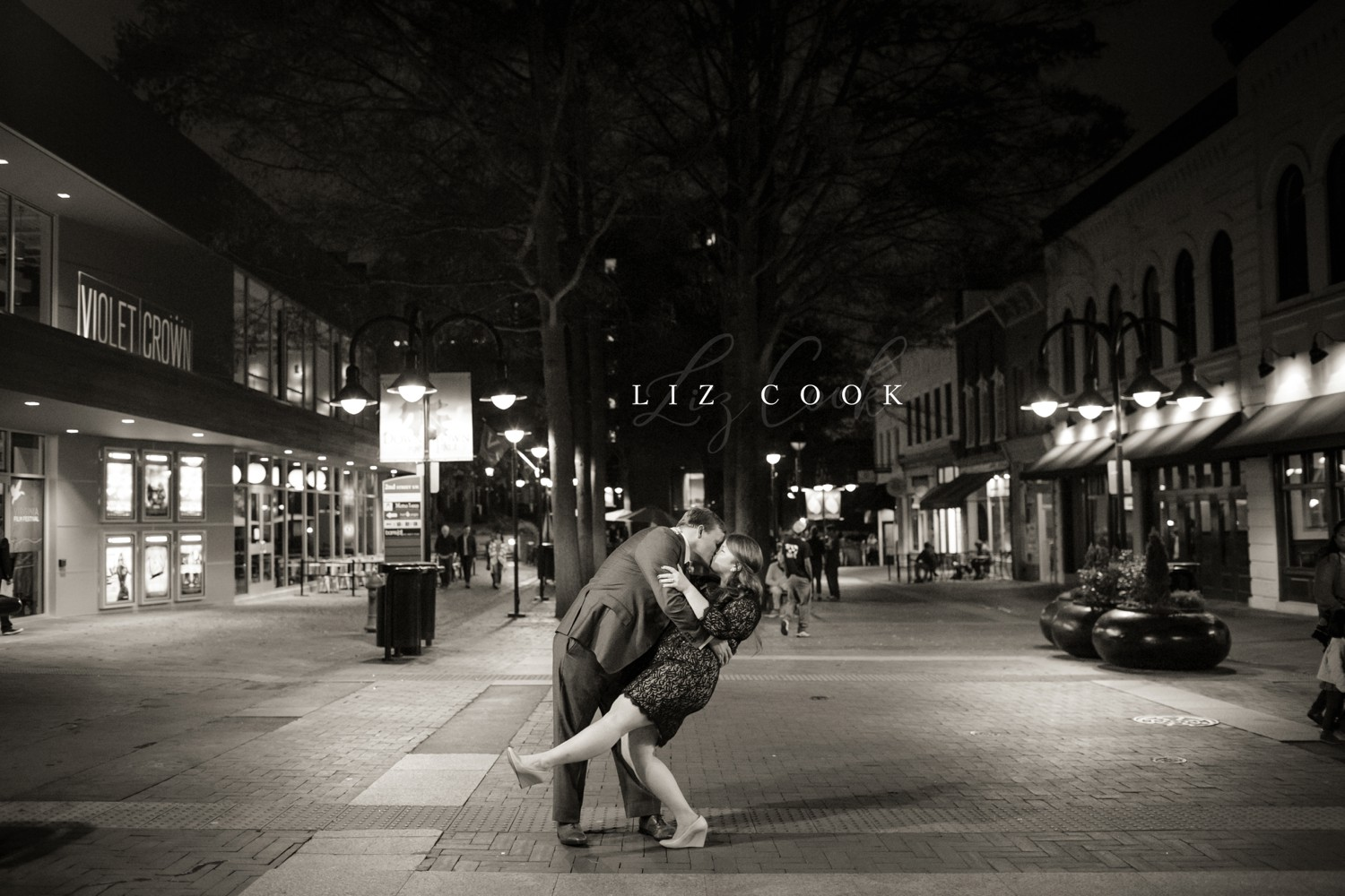 Engagement Portraits on the Downtown Mall in Charlottesville, Virginia