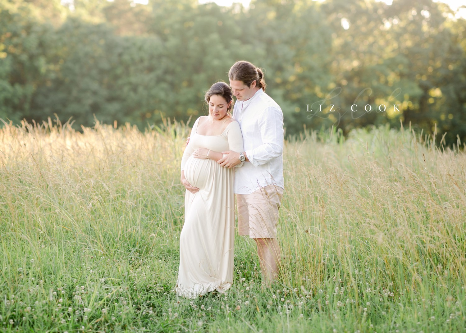 Couple maternity picture