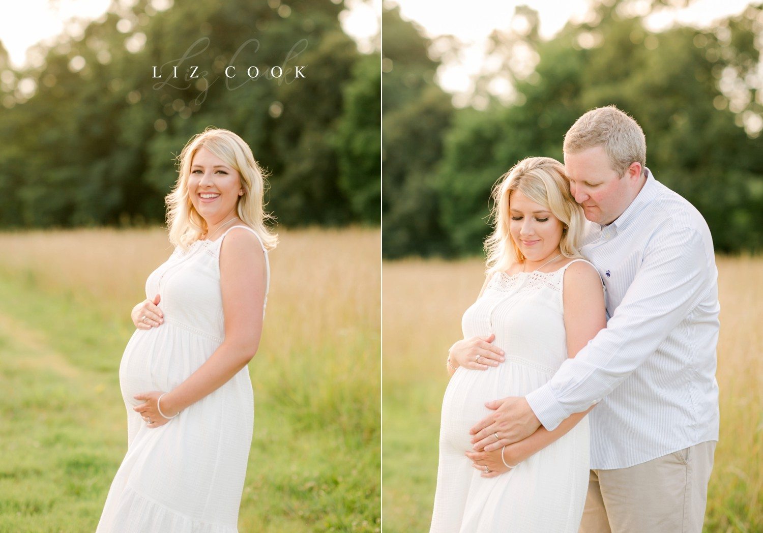 Lynchburg-Virginia-Maternity-Pictures-in-a-Field-Forest-Virginia-Photos-003.JPG