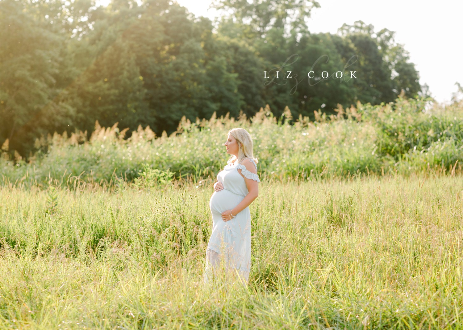 Lynchburg-Virginia-Maternity-Pictures-in-a-Field-Forest-Virginia-Photos-013.JPG