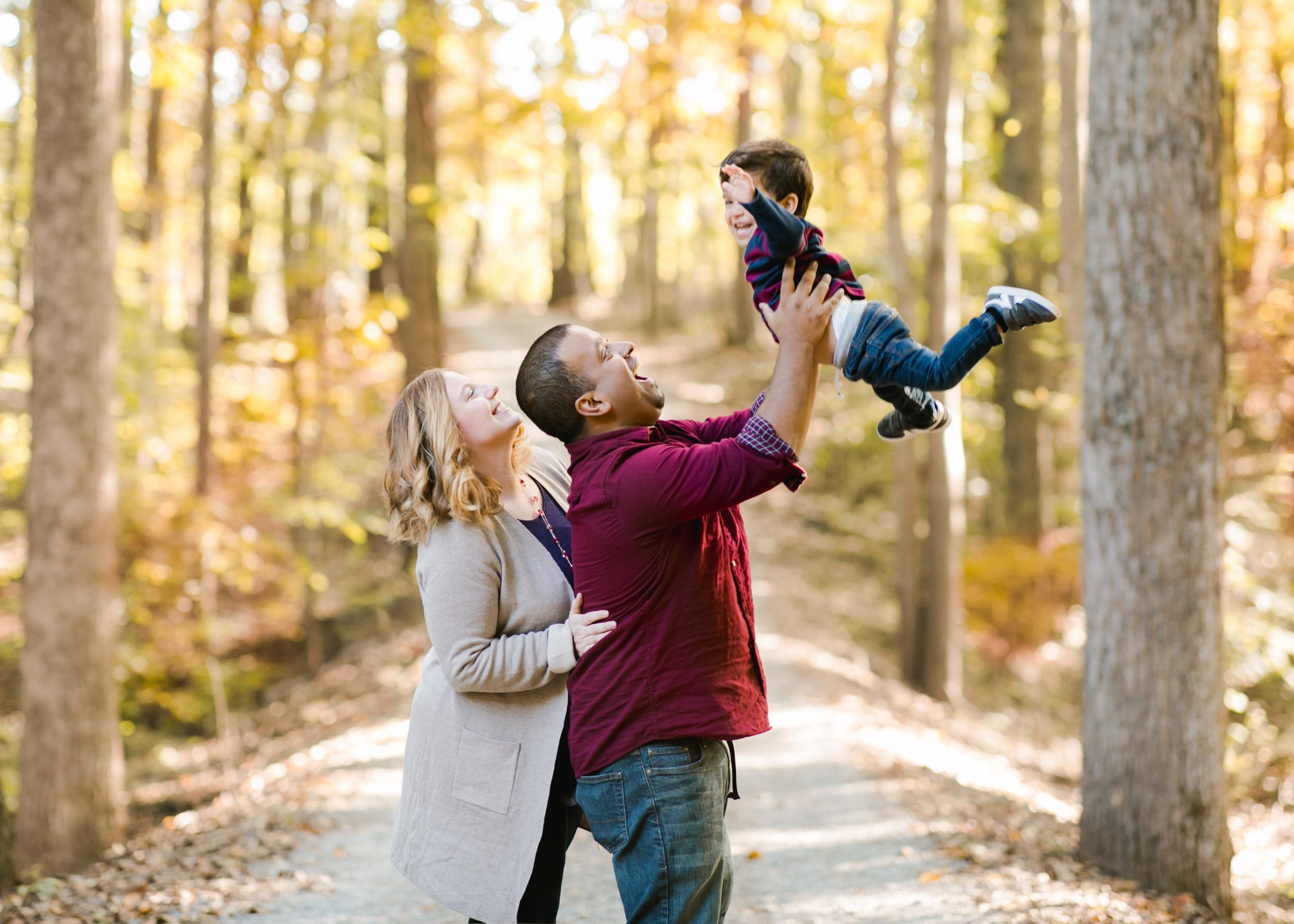 Fall Family Pictures Lynchburg VA Fall Foliage