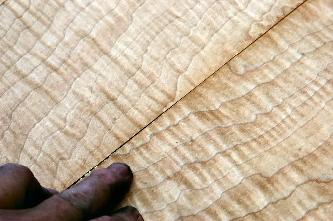 If you use them as they are cut, they look pretty good, but upon close examination, you can see some irregularities, so let's fix it.