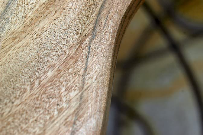 Then follow up with a second cut at about 22 ½ degrees… on both sides of the 45 degree bevel.