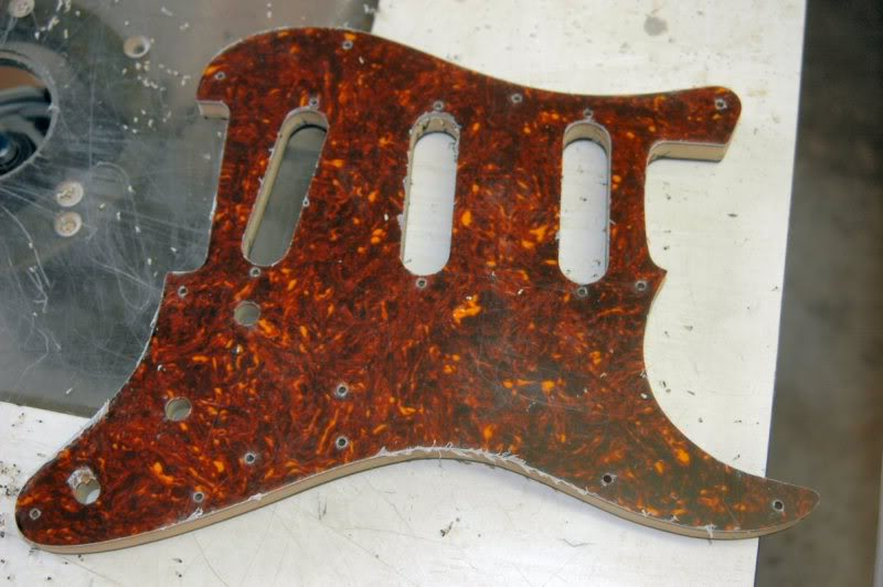Almost a finished pickguard...